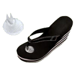 Silipos Sandal Gel Toe Protector,One Size,Pair,1121
