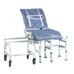 Duralife DuraGlide Reclining A Level Glide Bath and Commode Transfer System,50″H x 54″W x 48″D,Each,346