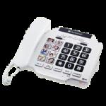 ClearSounds CSC500 Amplified Spirit Photo Phone,9.25″ x 6″ x 2.25″, White,Each,CS-CSC500
