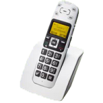 Clearsounds A400 DECT 6.0 Amplified Cordless Phone,White,Each,CS-A400