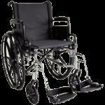 ITA-MED 18 Inch Lightweight Wheelchair with Height Adjustable Back WR18-400,18″ Lightweight Wheelchair,Each,WR18-400