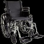 ITA-MED 20 Inch Lightweight Wheelchair with Height Adjustable Back WR20-400,20″ Lightweight Wheelchair,Each,WR20-400