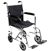 2420103124Ita-Med_19_Inches_Aluminum_Transport_Wheelchair_WTA19-100