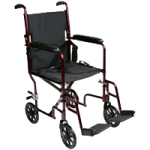 ITA-MED 19 Inch Transport Wheelchair,19″ Transport Wheelchair,Each,WT19-100