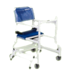 Columbia PVC Walker Chair with Sliding Footrest,With Sliding Footrest, Rose,Each,2720