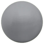 Valeo Burst Resistant Body Balls,55cm, Purple,Each,VA3582PU