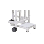 Columbia Footrest for PVC Hi-Back Bariatric Shower and Commode Chair,Footrest,Each,5000P-06