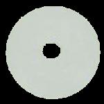 Torbot Hypalon Gray Rubber Faceplates,0.88″ Opening,Each,TSN2451