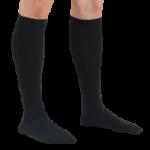 FLA Activa Women Microfiber Dress 20-30mmHg Socks,Black, Small,Pair,H3661