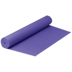 Valeo Yoga And Pilates Mat,24″W x 68″L,Each,VA4492PU