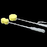 Sammons Preston Ergonomic Handle Sponges With Strap,27″(69cm) Contour Sponge,Each,557365