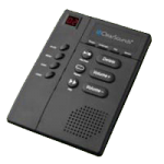 ClearSounds Digital Amplified Answering Machine with Slow Speech,7″ x 5″ x 2.25″,Each,CS-ANS3000