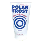 Polar Frost Pain Relieving Cold Gel Tube,5oz Tube,Each,1882s