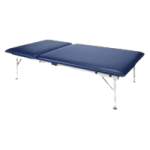 Armedica Adjustable Hi Lo AM Series Steel Mat Treatment Table with Adjustable Backrest,Imperial Blue,Each,AM-643