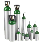 Tag E Oxygen Cylinders,With Post Valve,6/Pack,CE-SPV-PK