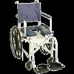 Invacare Mariner Rehab Shower Commode Chair with 16 Inches Seat,Rehab Shower Commode Chair,Each,6795