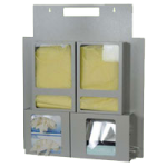 Harloff Wall or Door Mount Isolation Station,White,Each,ISO2835-W
