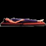 Somatron Full Body Vibroacoustic Portable Mat,Burgundy,Each,1000