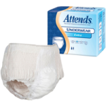 Attends Extra Absorbency Protective Underwear,44″ to 58″, Large,18/Pack,AP0730