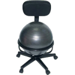 Cando Metal Ball Chair,With Arms, 32″ x 26″ x 22″,Each,30-1791