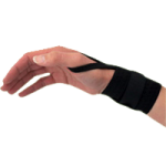 Core Universal Wrist Wrap With Thumb Loop,Black,Each,WST-6861