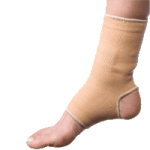 BodySport Slip-On Ankle Compression,Large, 9″ to 10″,Each,ZRB771LRG