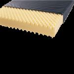 Medline Nylex II Convoluted Foam Mattress,36″ x 80″x 6″, with Fire Barrier,Each,MDT231180AFB