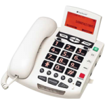 ClearSounds Digital Amplified Freedom Phone with Full ClearDigital Power,White,Each,WCSC600