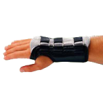 Rolyan Workhard D-Ring Wrist Braces,Right, Small,Each,A38322