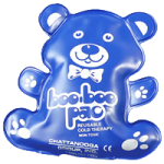 Chattanooga Boo Boo Bear Shaped Cold Pac,Royal Blue,12/Case,1534