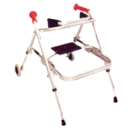 Kaye PostureRest Two Wheel Large Walker With Seat And Forearm Support Option,Each,W5CH
