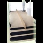 Armedica Abduction Board for Parallel Bar,94″L x 3/4″W x 5″H,Each,AM-714
