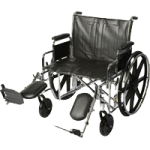 ITA-MED 22 Inch Extra Wide Wheelchair,22″ Adult Wheelchair,Each,W22-300