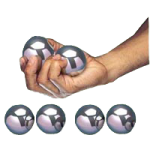 Finger Fitness Spheres Metal Balls,Medium, 9.75oz,Pair,A83721
