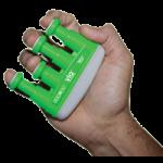 Cando VIA Hand Exerciser,4lb of Resistance, Green, Medium,Each,10-0737