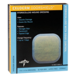 Medline Exuderm OdorShield Dressing,6″ x 6″,Each,MSC5566H