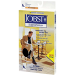 BSN Jobst for Men Classic Supportwear Closed Toe Knee High 8-15 mmHg Mild Compression Socks,Black, X-Large,Pair,110304
