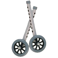 3122009503Drive_5_Inch_Walker_Wheels_with_2_Sets_of_Rear_Glides_for_Use_with_Universal_Walker