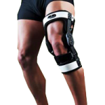 Optec Gladiator ACL Lite Knee Brace,X-Large, Right,Each,GLACLL
