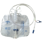 Medline Drainage Bag With Anti Reflux Device,2000ml,20/Case,DYND15207