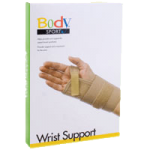 BodySport Carpal Tunnel Wrist Support,Left, X-Large 4″ to 5″,Each,ZRB517LXLG