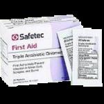 Safetec Triple Ointment,0.5g Pouch,2000/Case,53215