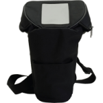Drive Chad Three-In-One Oxygen Cylinder Shoulder Carry Bag,15.75″H x 4.33″W (At Base) x 8″W (At Widest Point),Each,OP-150-800