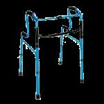 Mabis DMI HealthSmart Sit-to-Stand Walker,Blue,Each,500-1525-0200