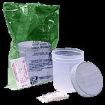 Action Specimen Container with Screw Cap,4oz, Sterile,100/Case,4928