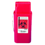 Covidien Kendall SharpSafety Transportable Sharps Container,1.5 Quart,Each,8909
