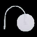 4820121343Pepin_Advantrode_Prewired_Reusable_Silver_Coated_Film_White_Foam_Electrodes