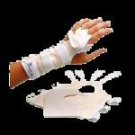 Rolyan Adjustable Ulnar Deviation Wrist Splint,Right, Small, Wrist Circumference: Upto 5-1/2″ (14cm),Each,A495RS