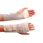 Rolyan D-Ring Wrist Brace with MCP Support,Right, Large, Wrist Circumference: 7-3/4″ to 8-1/2″ (19.7cm to 21.6cm),Each,A6128
