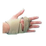 Rolyan Hand Based In-Line Splint,Left, X-Small, Wrist Circumference: Upto 5-3/4″ (14.6cm),Each,A679111